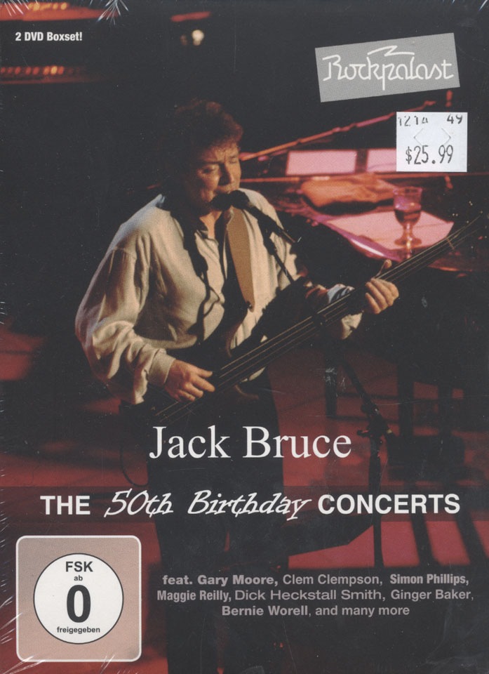 Jack Bruce DVD