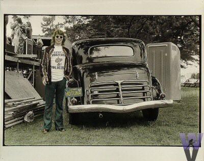 Jack Casady Vintage Print