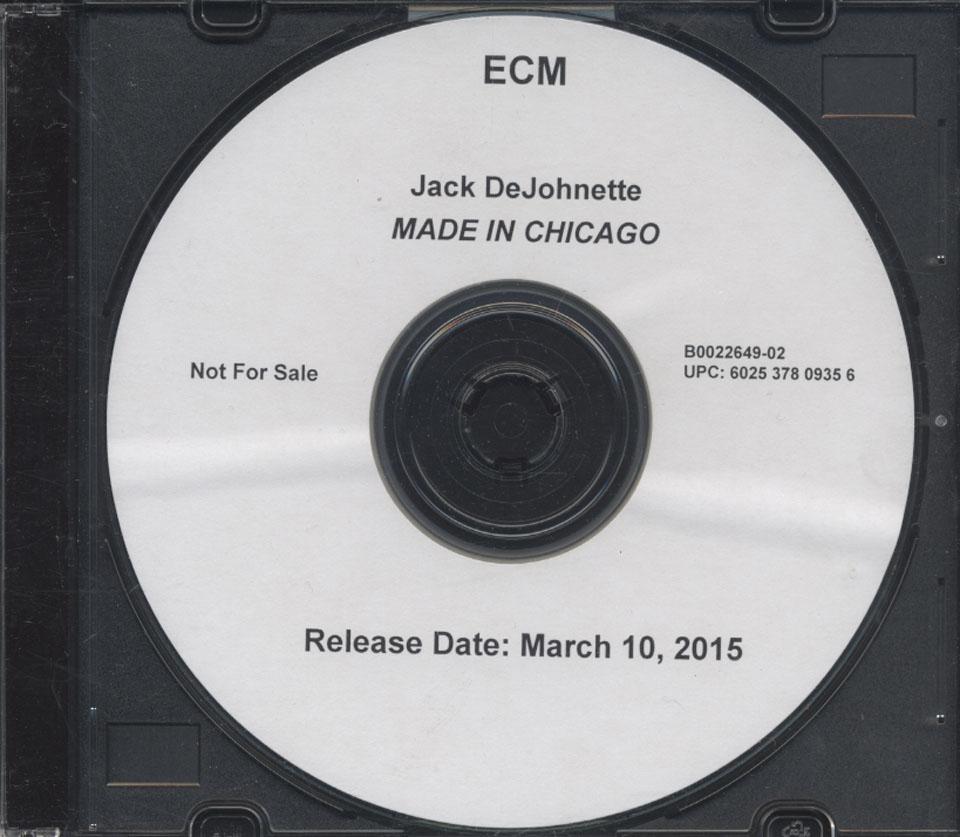 Jack DeJohnette CD
