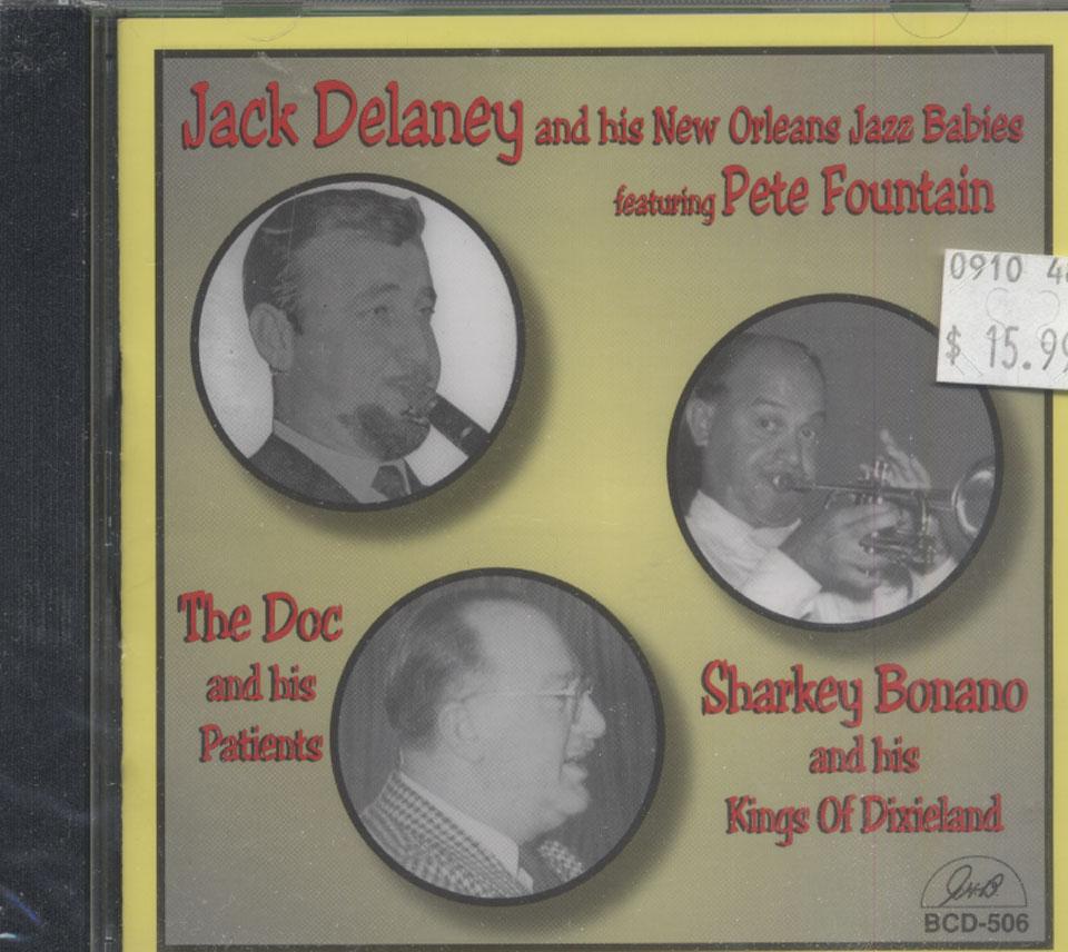 Jack Delaney with Pete Fountain / Doc Souchon / Sharkey Bonano CD