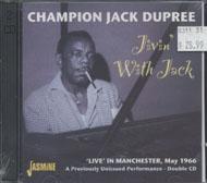 Jack Dupree CD