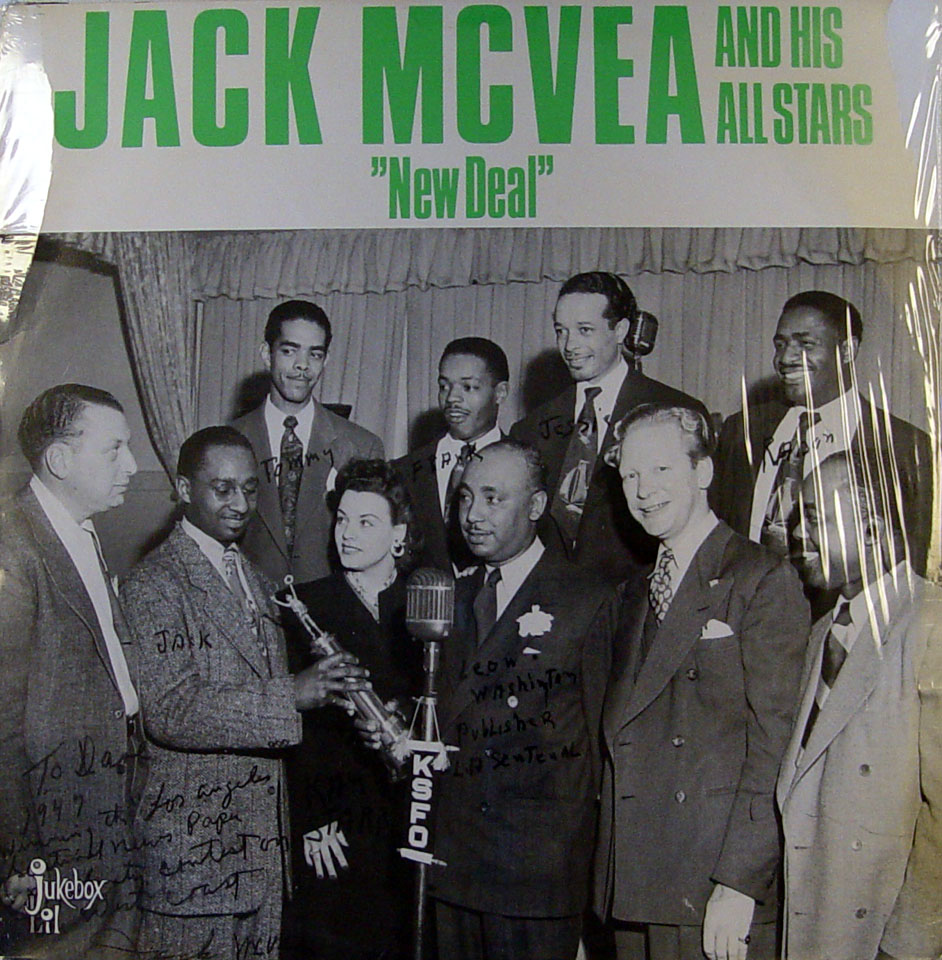 "Jack McVea And His All Stars Vinyl 12"" (New)"