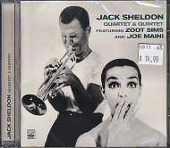 Jack Sheldon Quartet & Quintet CD