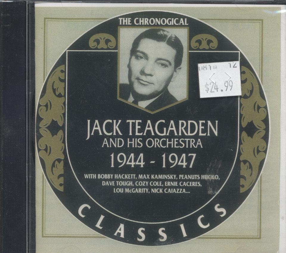 Jack Teagarden & His Orchestra CD