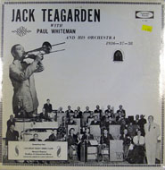 "Jack Teagarden/ Paul Whiteman Vinyl 12"" (New)"