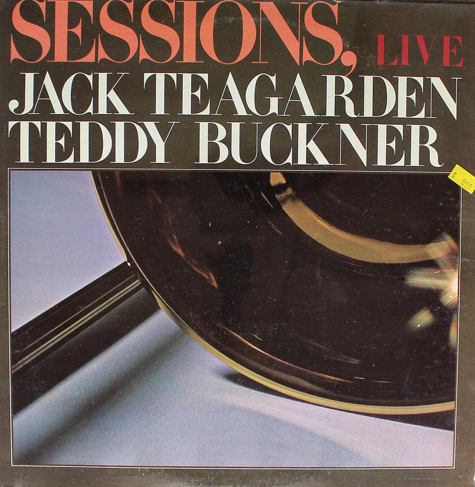 """Jack Teagarden / Teddy Buckner Vinyl 12"""" (New)"""