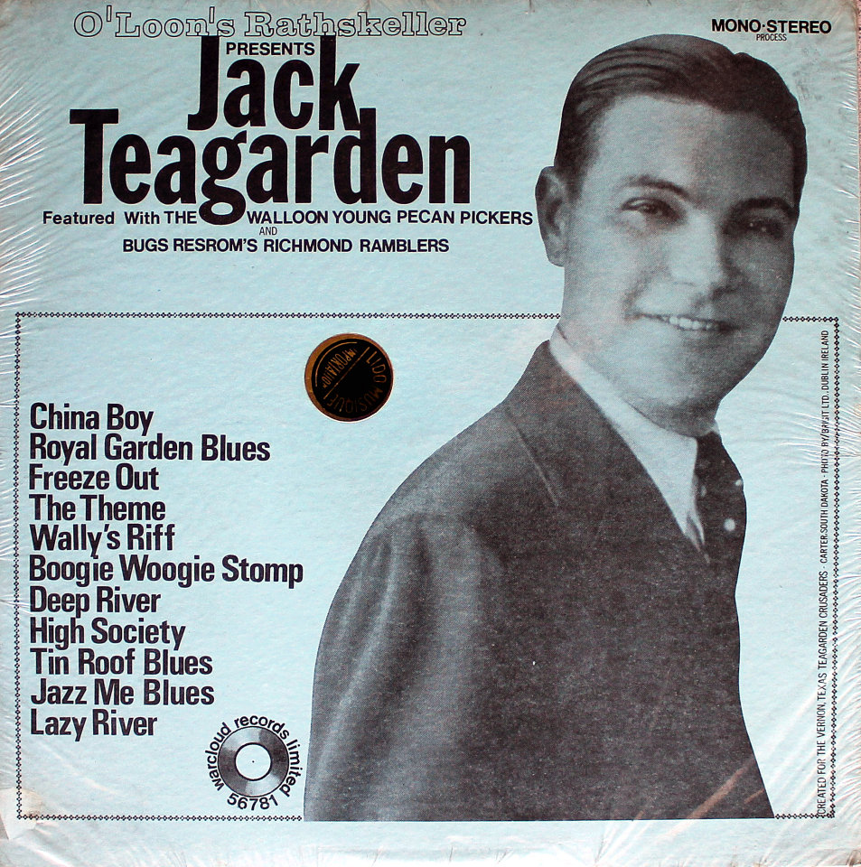 "Jack Teagarden Vinyl 12"" (New)"