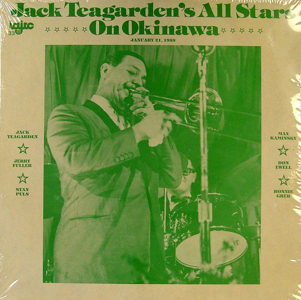 "Jack Teagarden's All Star On Okinawa, January 21, 1960 Vinyl 12"" (New)"