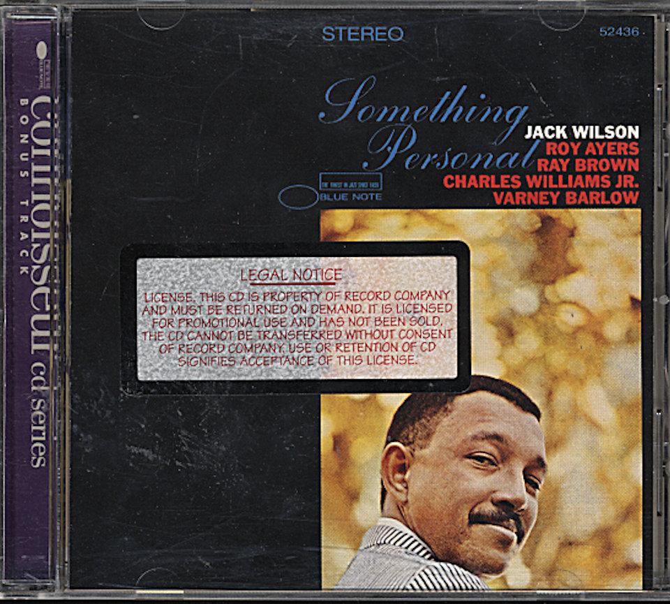 Jack Wilson CD