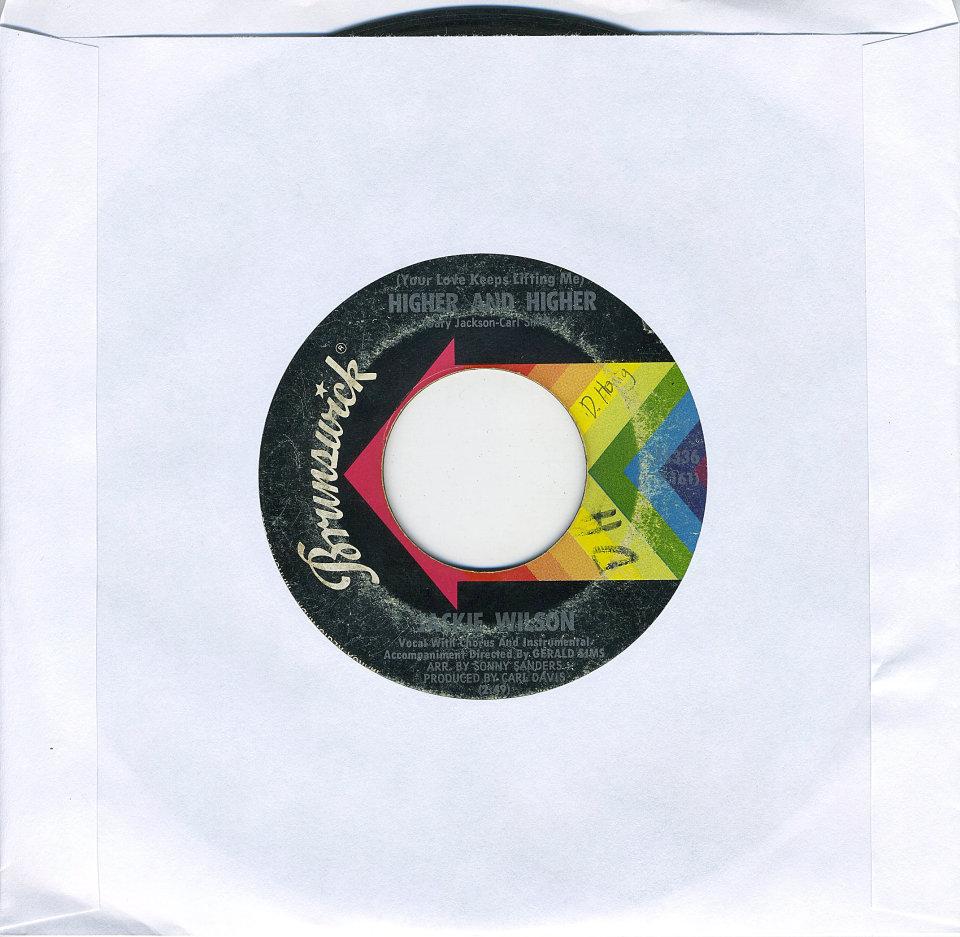 """Jackie Wilson Vinyl 7"""" (Used)"""