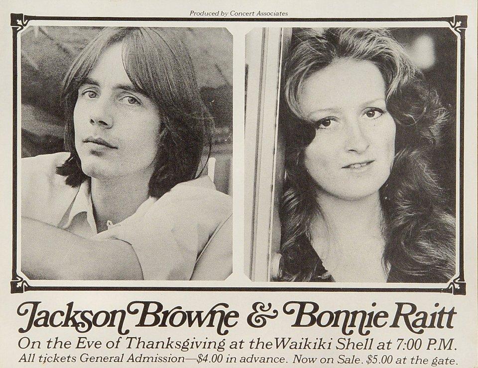 Jackson Browne Handbill