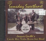 Jacques Gauthe's Creole Rice Yerba Buena Jazz Band CD