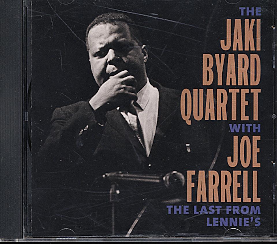 Jaki Byard Quartet CD