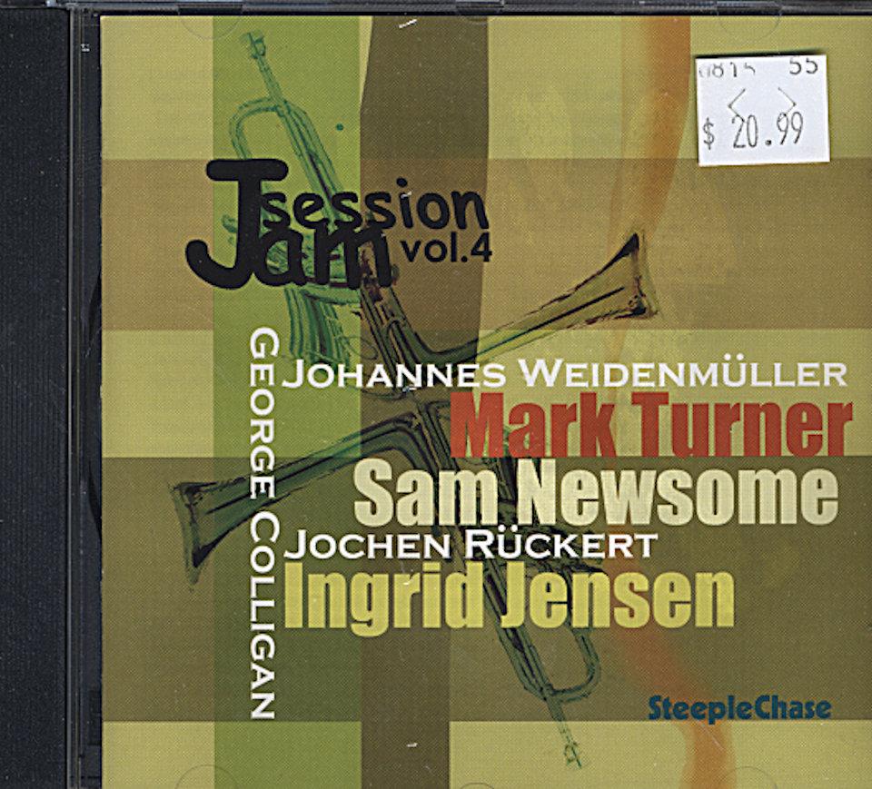 Jam Session Volume 4 CD