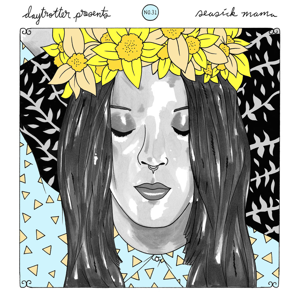 "James Apollo / Seasick Mama Vinyl 12"" (New) reverse side"