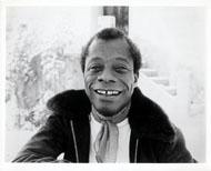 James Baldwin Vintage Print