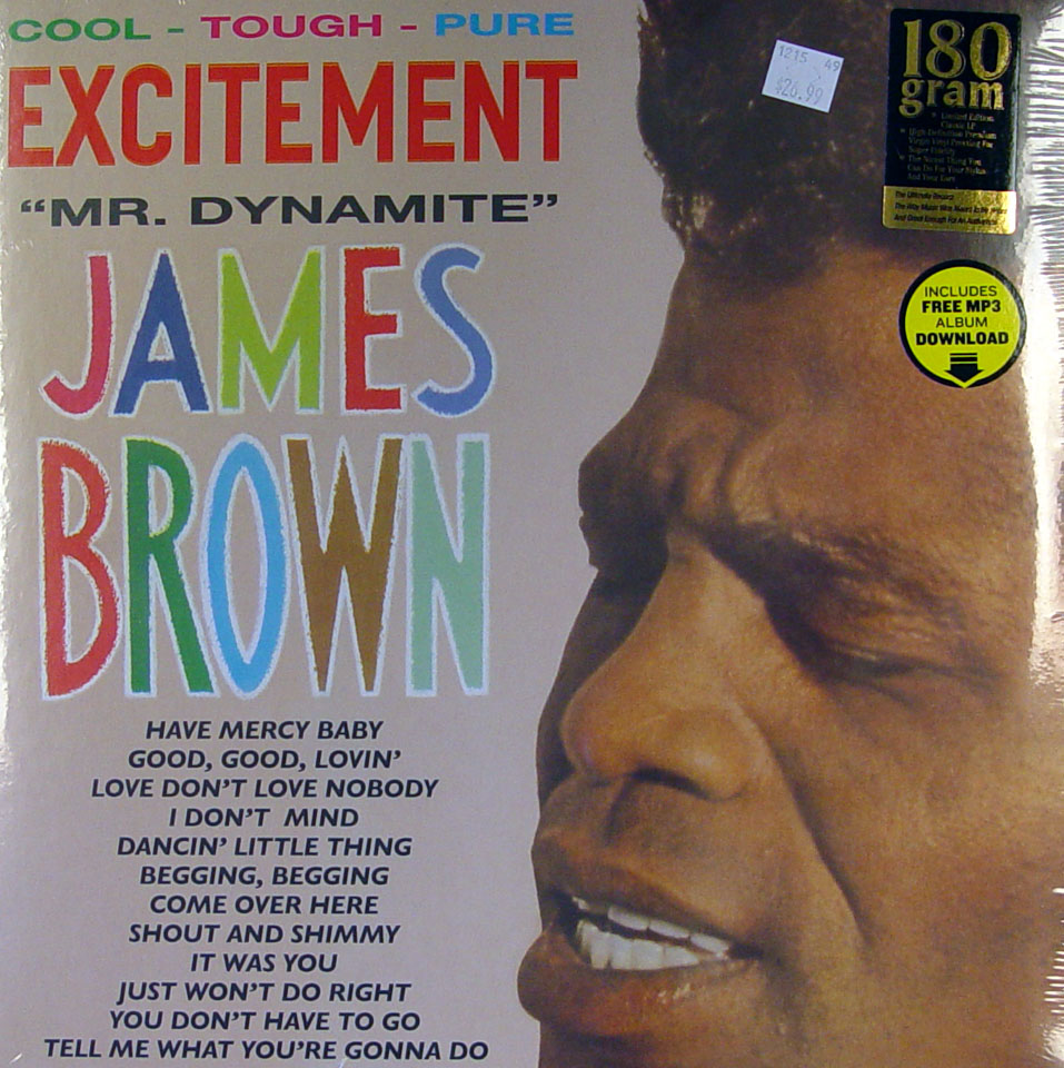 """James Brown And The Famous Flames Vinyl 12"""" (New)"""