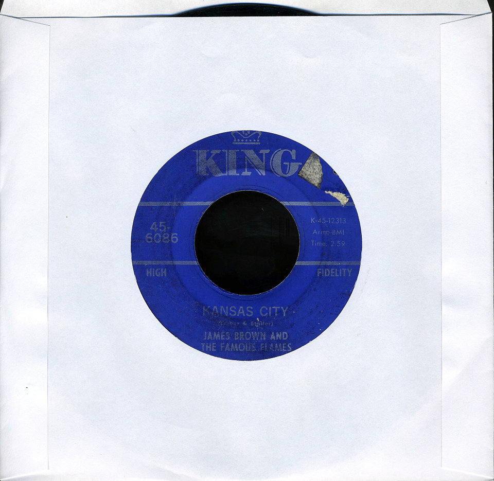 """James Brown And The Famous Flames Vinyl 7"""" (Used)"""