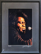 James Brown Vintage Print