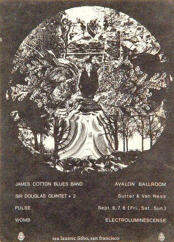 James Cotton Blues Band Handbill