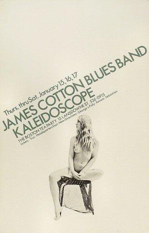 James Cotton Blues Band Poster