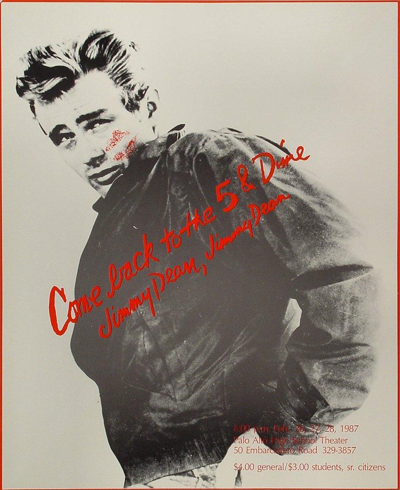 James Dean Poster
