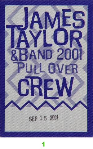 James Taylor Backstage Pass