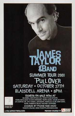 James Taylor Handbill