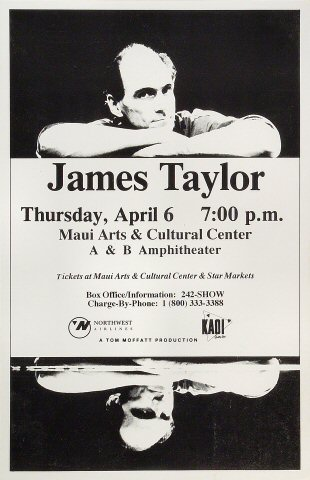 James Taylor Poster