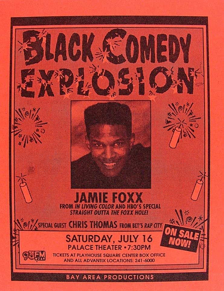Jamie Foxx Handbill