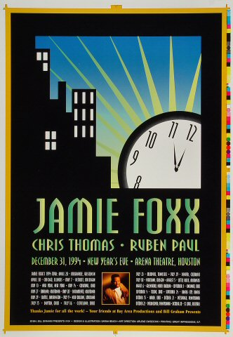Jamie Foxx Proof From Arena Theatre Dec 31 1994 At