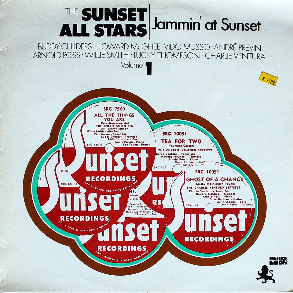 """Jammin' At Sunset: Volume 1 Vinyl 12"""" (New)"""