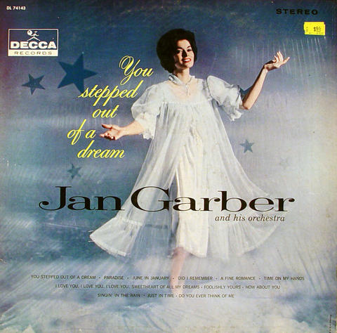 """Jan Garber And His Orchestra Vinyl 12"""" (Used)"""