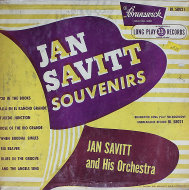 "Jan Savitt & His Orchestra Vinyl 10"" (Used)"