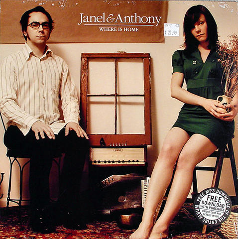 """Janel & Anthony Vinyl 12"""" (New)"""