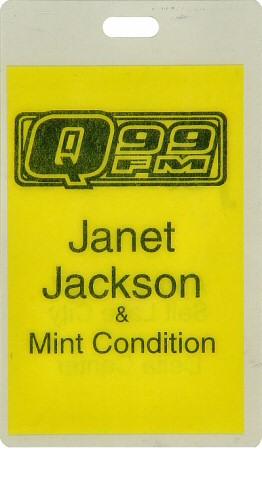Janet Jackson Laminate reverse side