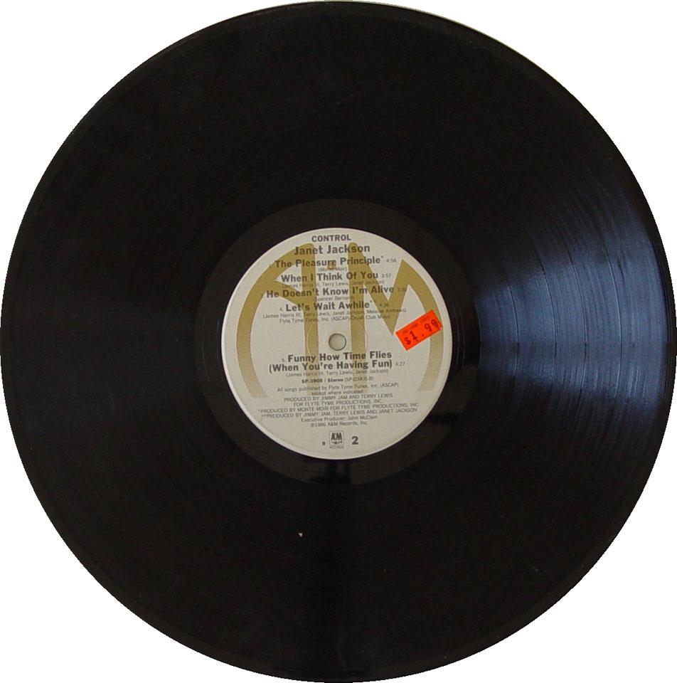 """Janet Jackson Vinyl 12"""" (Used)"""
