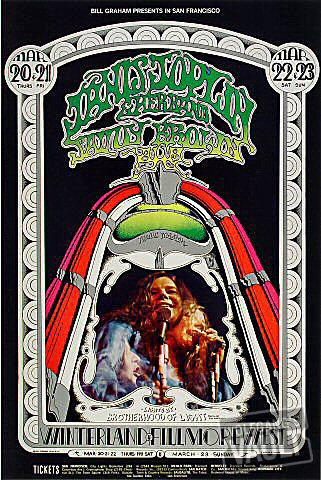 Janis Joplin Handbill