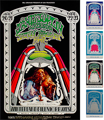 Janis Joplin Poster/Ticket Bundle
