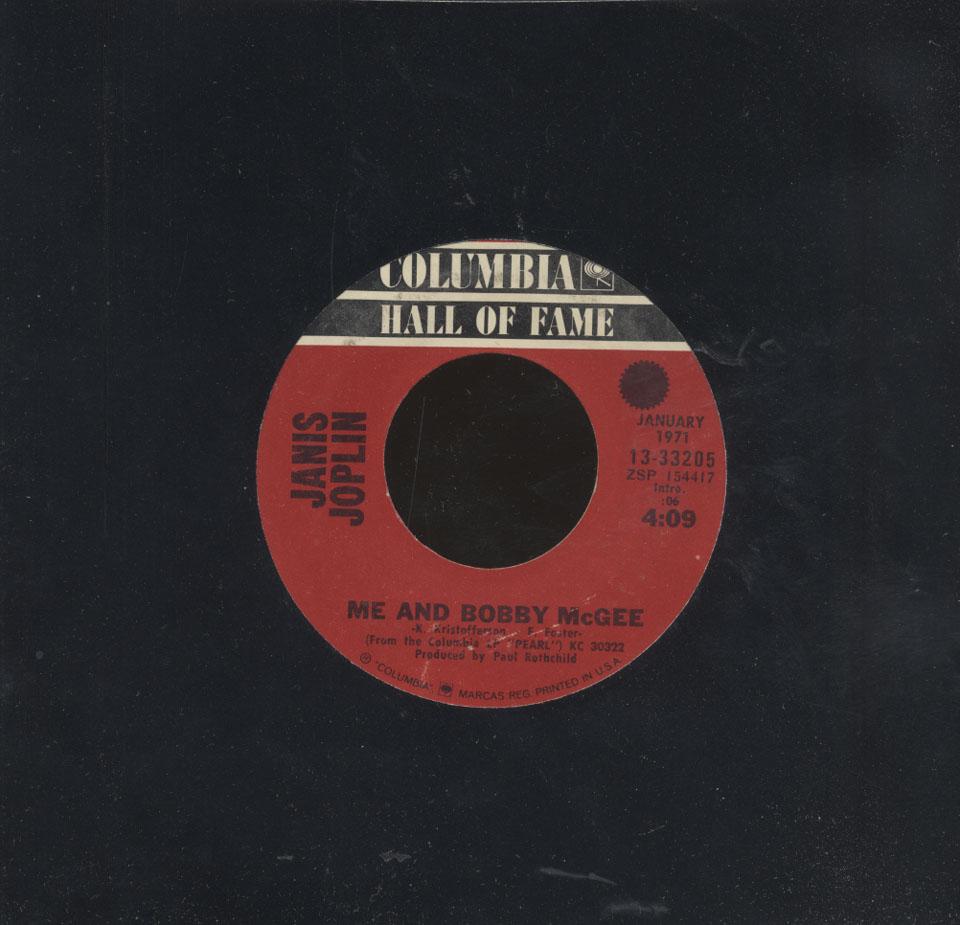 """Janis Joplin Vinyl 7"""" (Used)"""