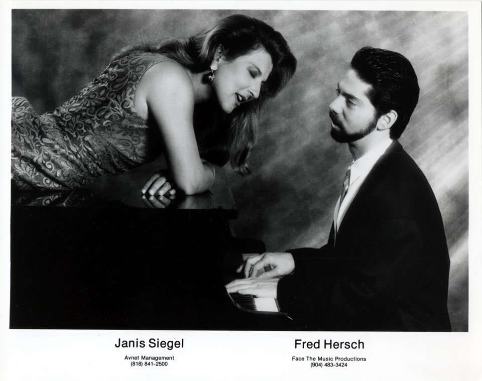 Janis Siegel Promo Print