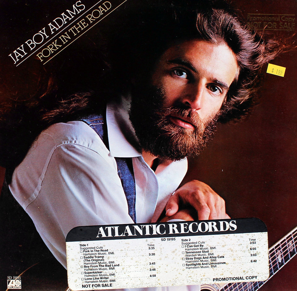 "Jay Boy Adams Vinyl 12"" (Used)"