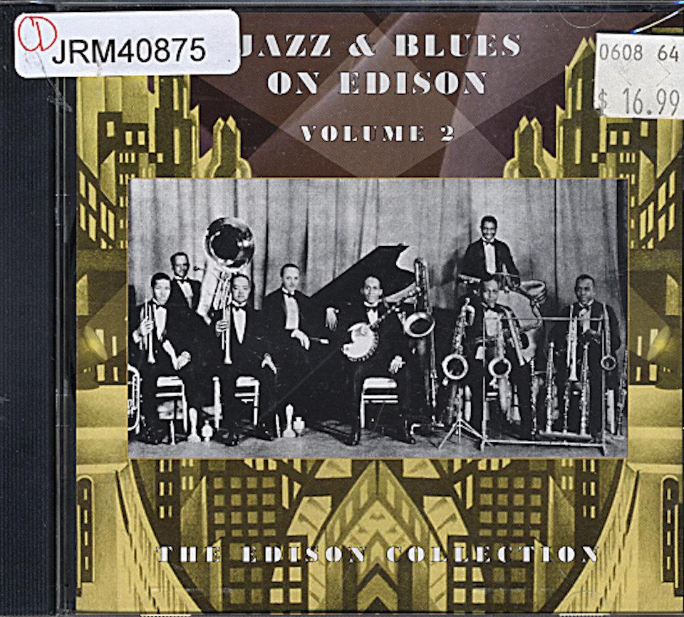 Jazz & Blues on Edison: Volume 2 CD