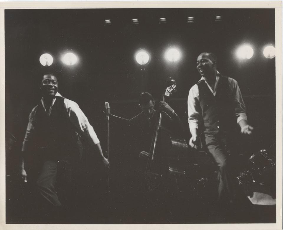 Jazz Dance Duo Vintage Print