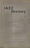 Jazz Directory: Volume 3 - Ten Shillings Book