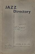 Jazz Directory: Volume 5 - Ten Shillings Book