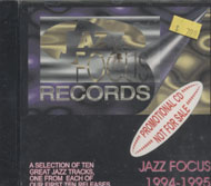 Jazz Focus Records 1994 - 1995 CD