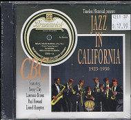 Jazz In California 1923 - 1930 CD
