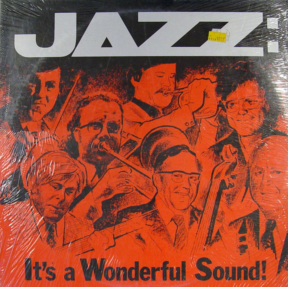 "Jazz:  It's A Wonderful Sound! Vinyl 12"" (New)"