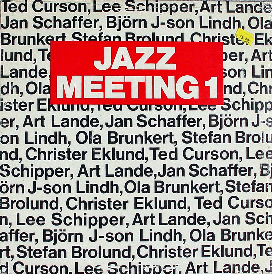 "Jazz Meeting 1 Vinyl 12"" (New)"